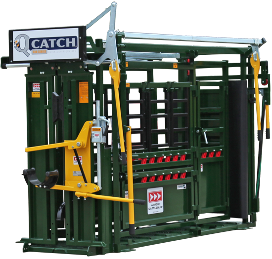 Cattle Chute Texas, Arrowquip Q-CATCH 8500V CATTLE SQUEEZE CHUTE